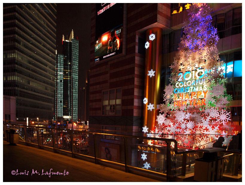 Shanghai en Navidad