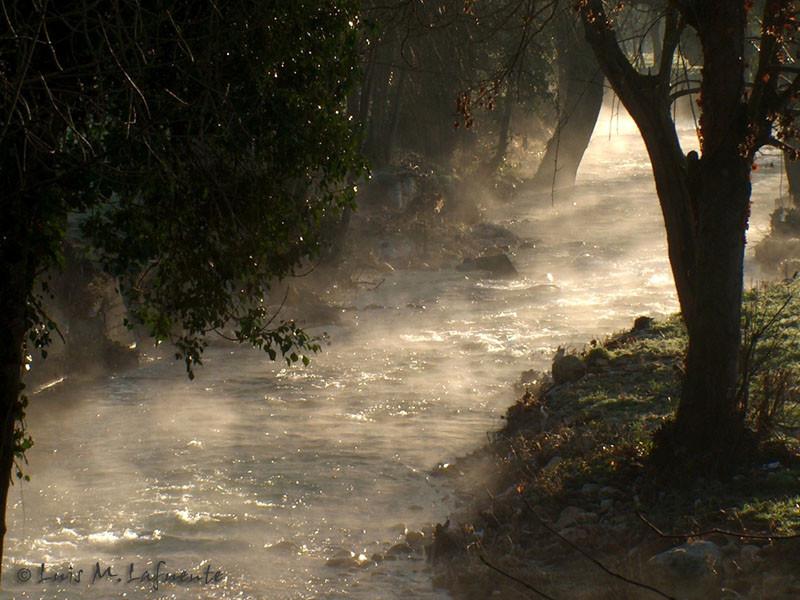 Vapor de agua por evaporación