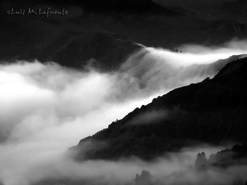 Mar de niebla, Tineo