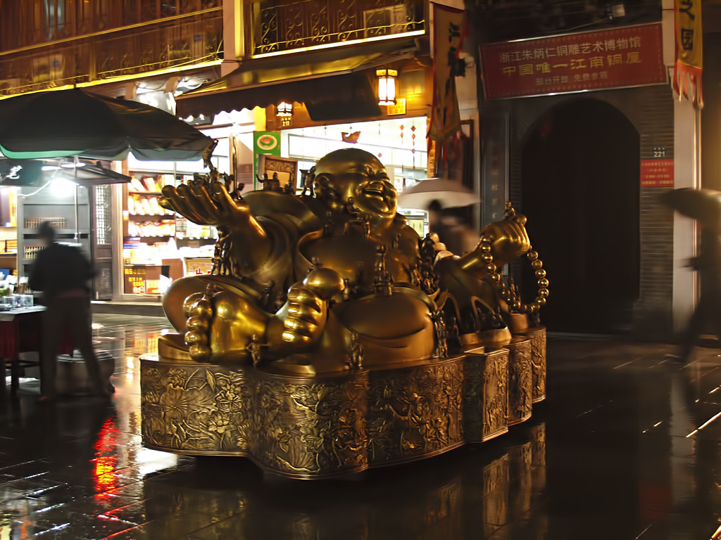 Buda de la fertilidad - Noche..