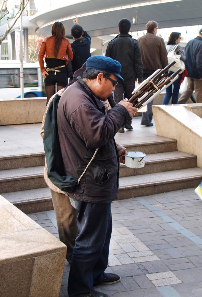 Los invidentes son grandes interpretes de música tradicional
