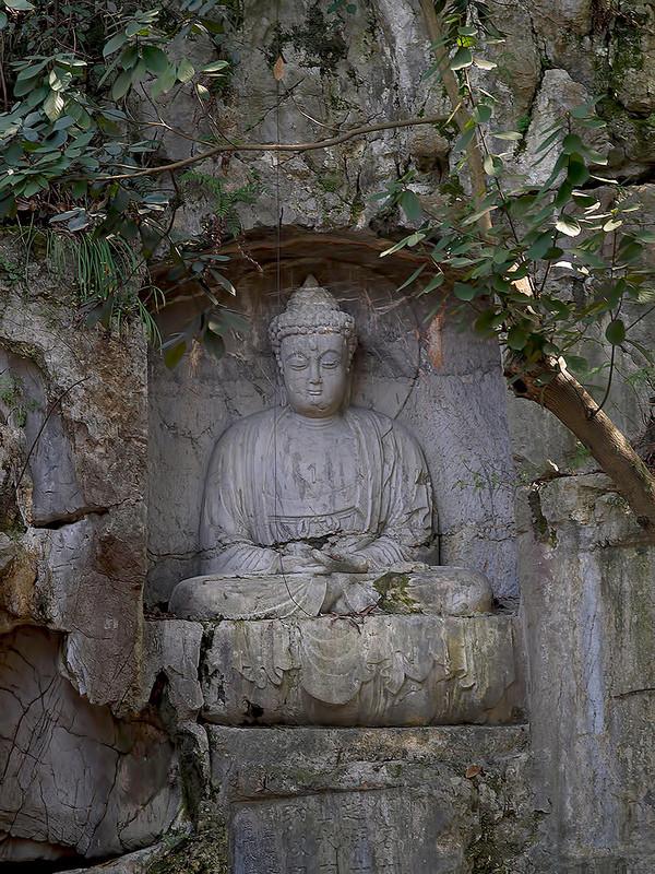 Templo budista de Lingyin en Hangzhou, Zhejiang