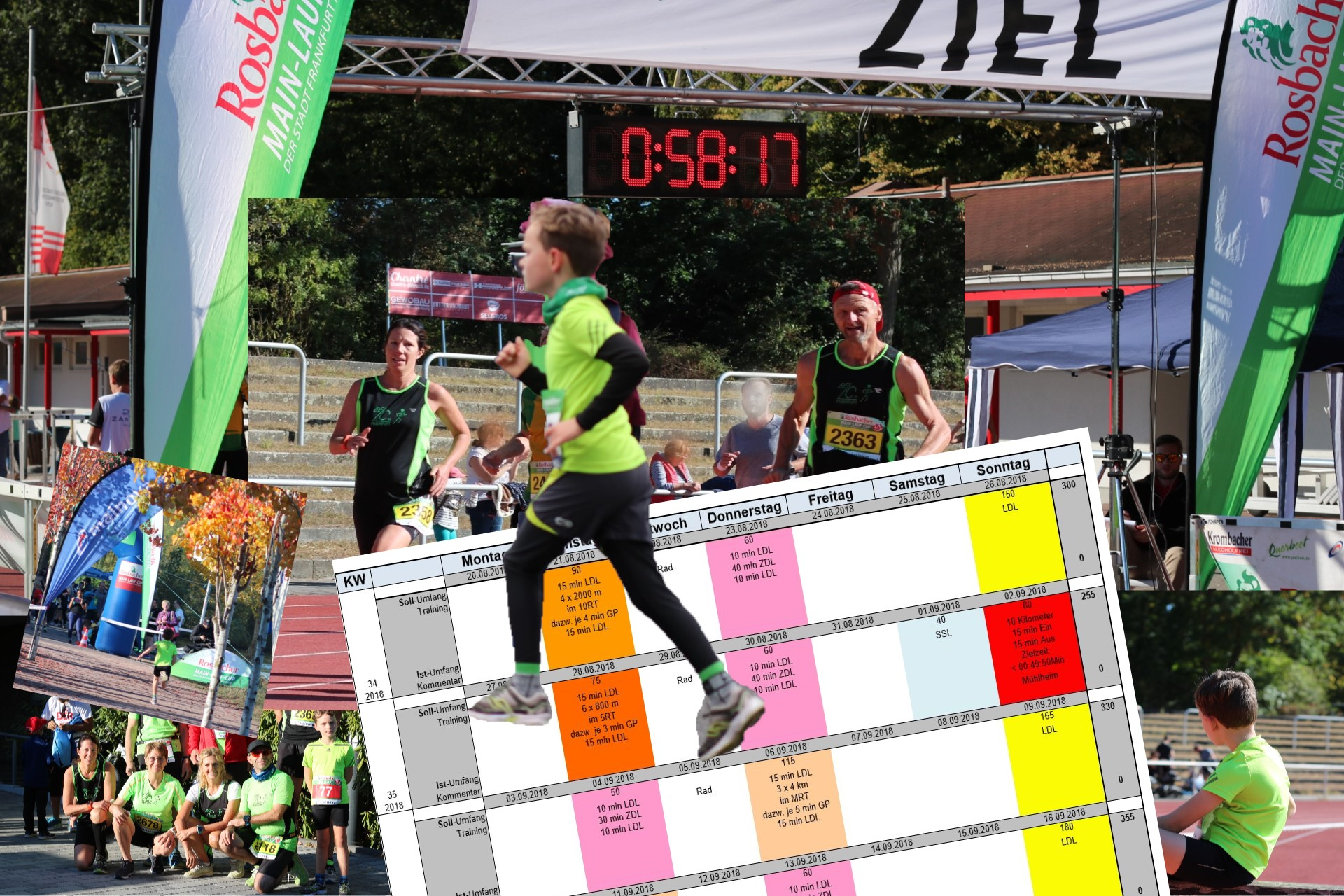Laufcoaching und Trainingsplanung