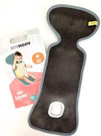 Autositzauflage für Babysitz, damit Baby weniger schwitzen