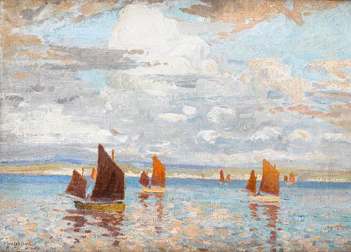 Charles Bryant  'Herring Fishing, St Ives Bay'  (Issue 3)