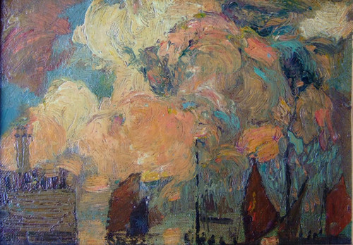 Richard Hayley Lever  Storm Clouds, St Ives