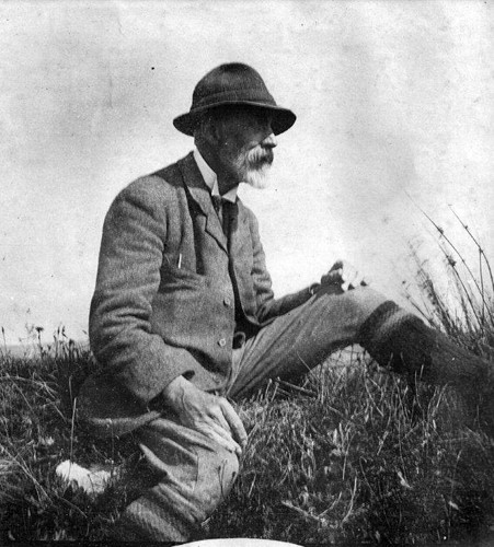 Alfred Sidgwick at Dozmary Pool in 1914