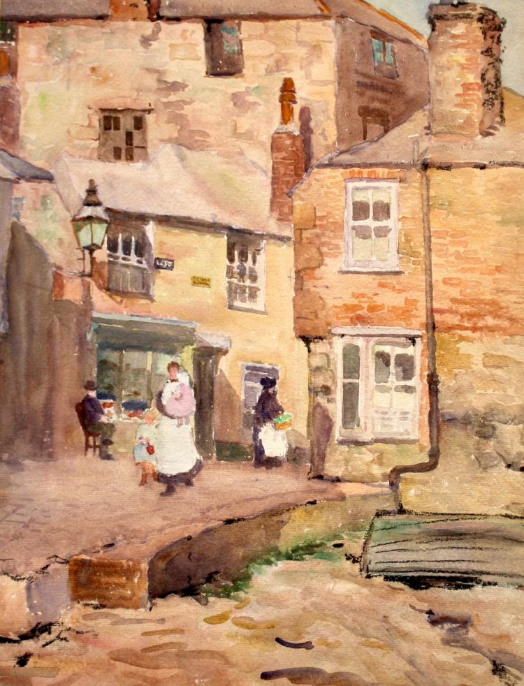 Emma Mendenhall  'Quay Street, St Ives'