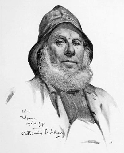 Romilly Fedden 'John, a Polperro Fisherman'