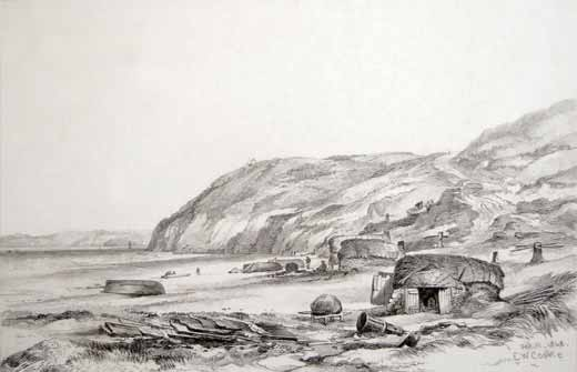 Edward Cooke - Carrick Gladden Cove (i.e. Carbis Bay) 1848