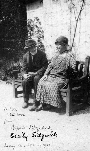 The Sidgwicks on their Golden Wedding Anniversary on 24th May 1933