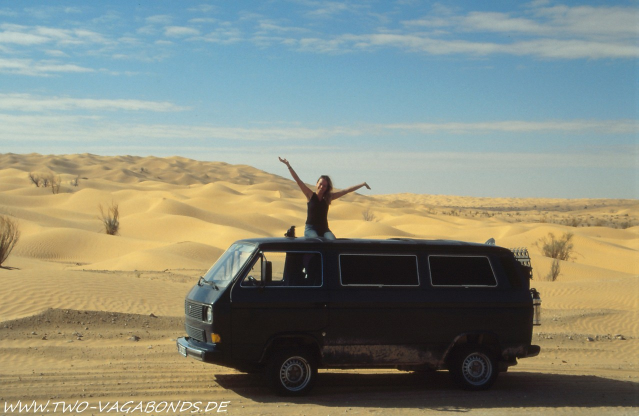 TUNESIEN 2003 - SAHARA SPERRGEBIET
