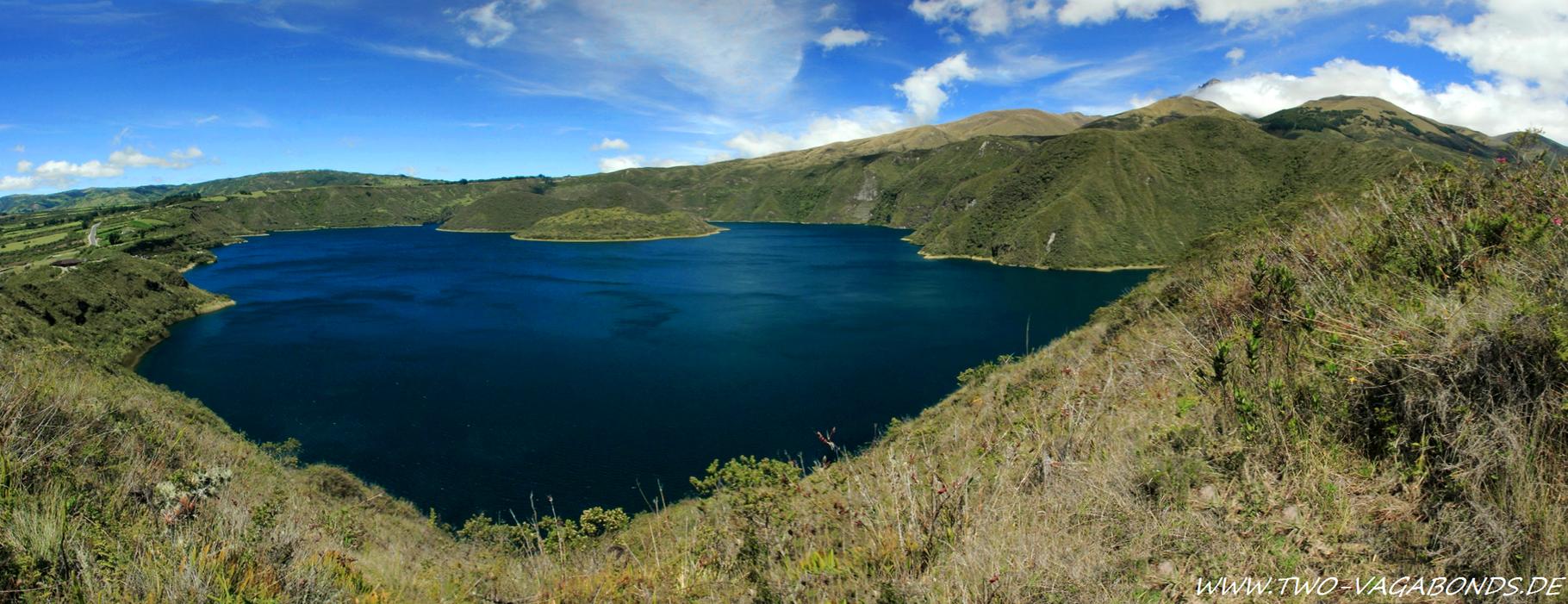 ECUADOR 2014 - LAGUNA MOJANDA