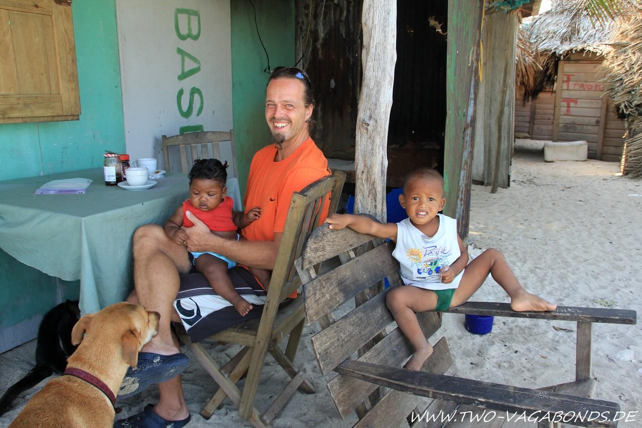 HONDURAS 2013 - INSEL CHACHAHUATE - KARIBIK