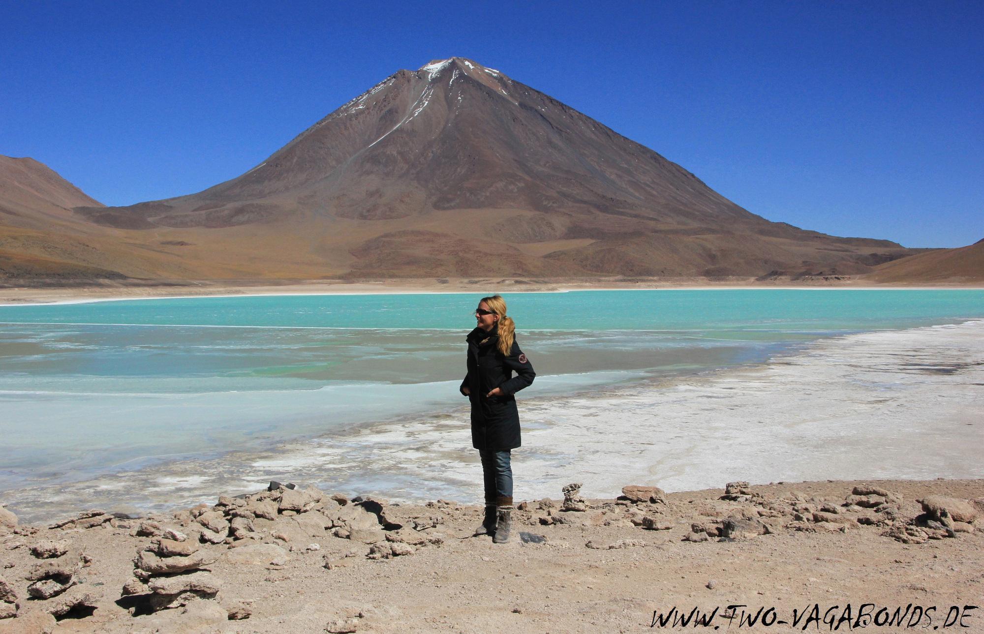 BOLIVIEN 2015 - LAGUNENROUTE - LAGUNA VERDE