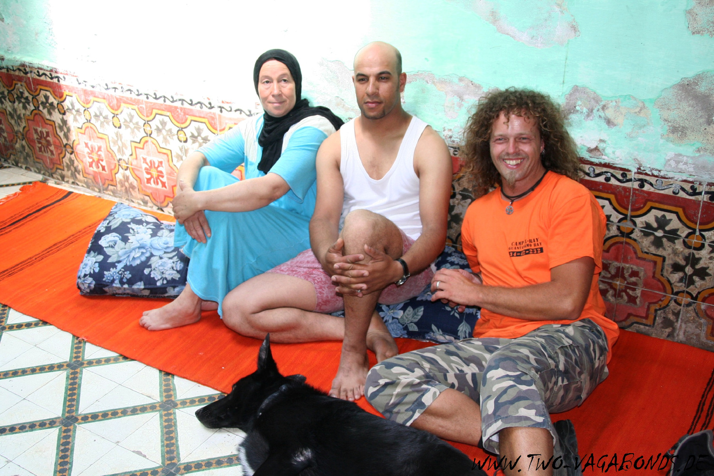 MAROKKO 2006 / SPONTANE EINLADUNG IN MARRAKECH