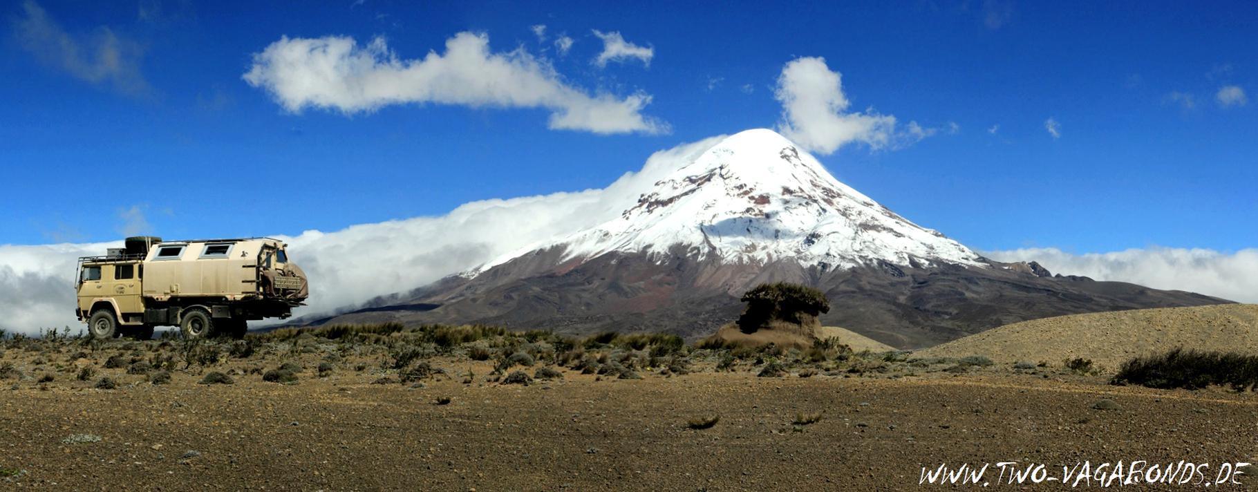 ECUADOR 2015 - VULKAN CHIMBORAZO
