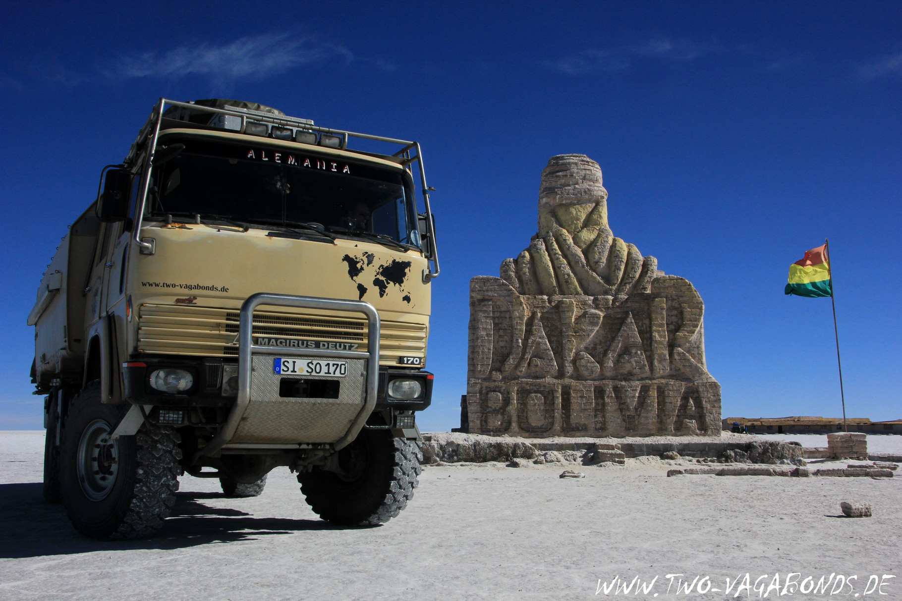 BOLIVIEN 2015 - SALAR DE UYUNI