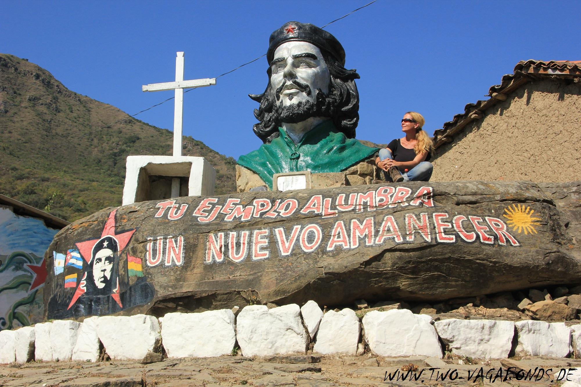 BOLIVIEN 2015 - CHE GUEVARA PILGERSTÄTTE