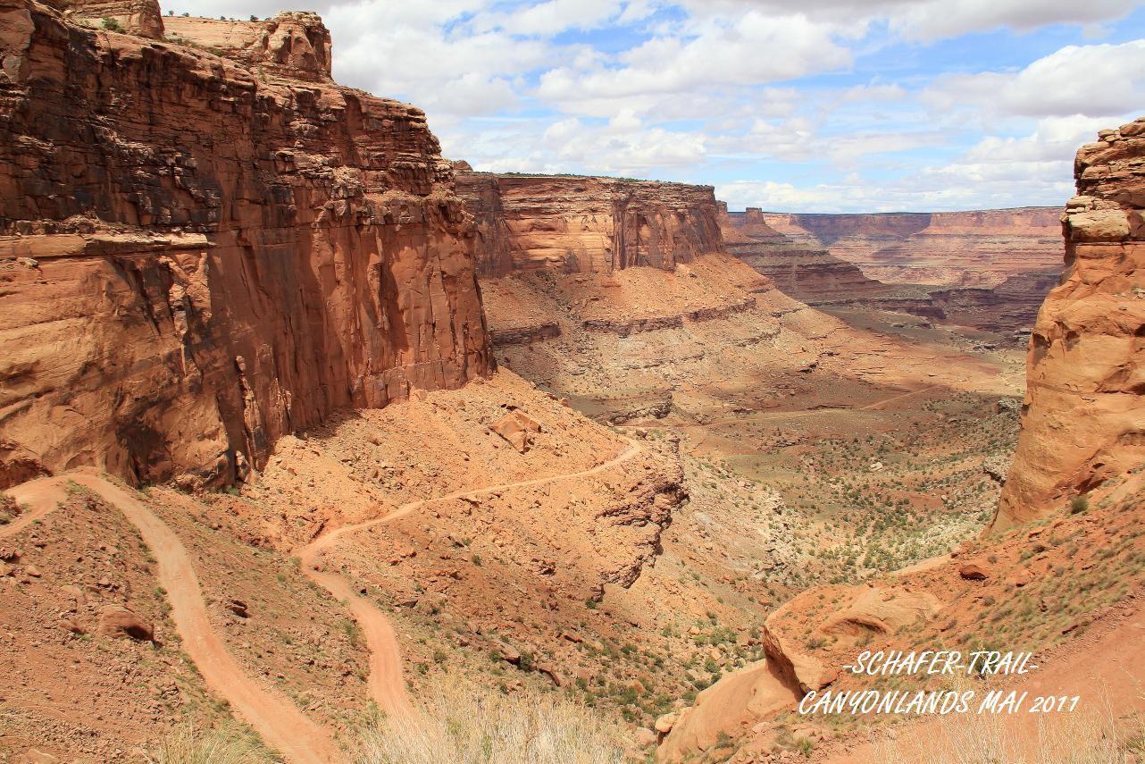 USA 2011 - SCHAFER TRAIL - MOAB