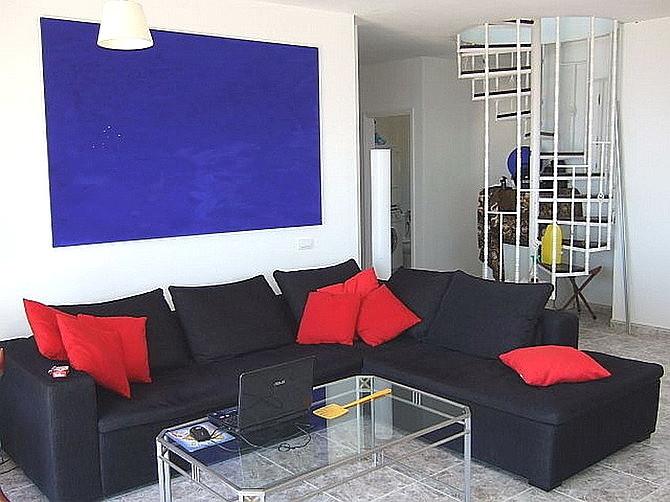 Blick in das Apartment
