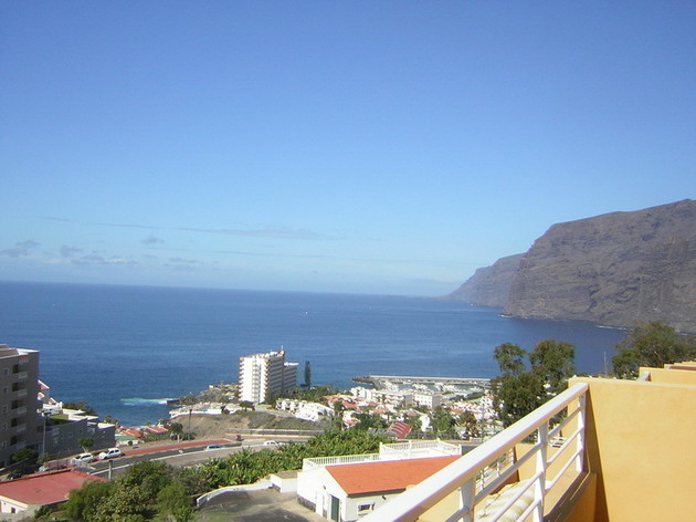 Blick zum Meer und zur Steilküste von Los Gigantes