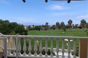 Golfplatz vor der Reihenhaus Villa.