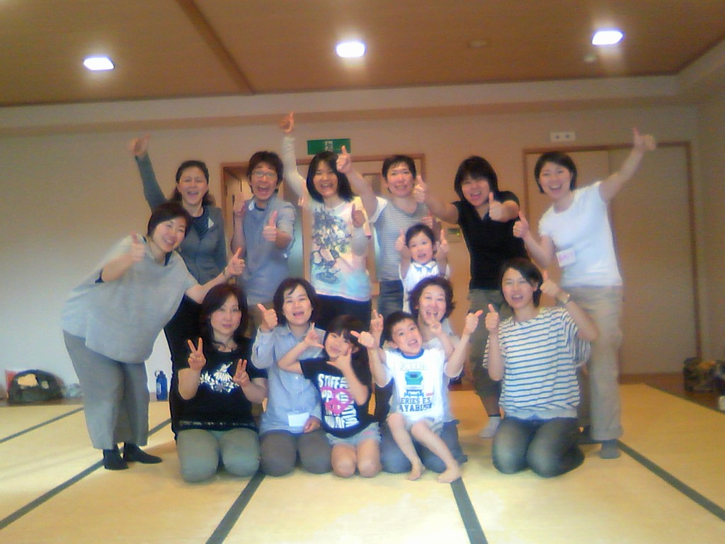 2012年大阪で開催した講座はお子さま連れOK講座でした♪