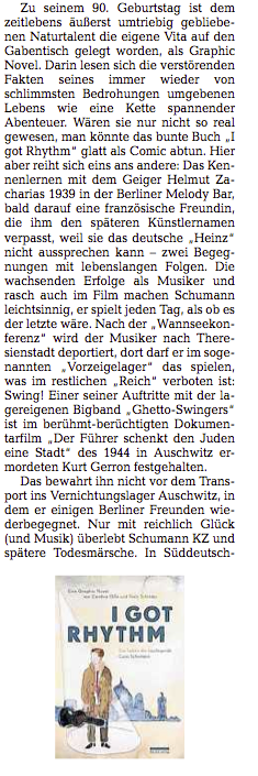 Michael Ernst / Rezension in der DNN / © Niels-Schroeder