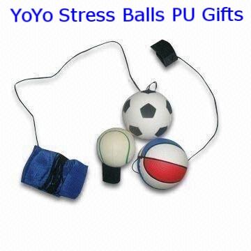BCw-1707 YoYo Stress Balls PU Gifts