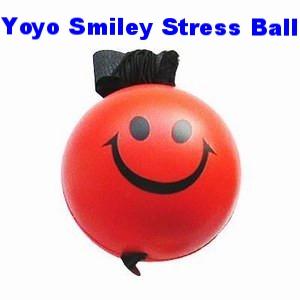 BCs-047b Yoyo Smiley Stress Ball