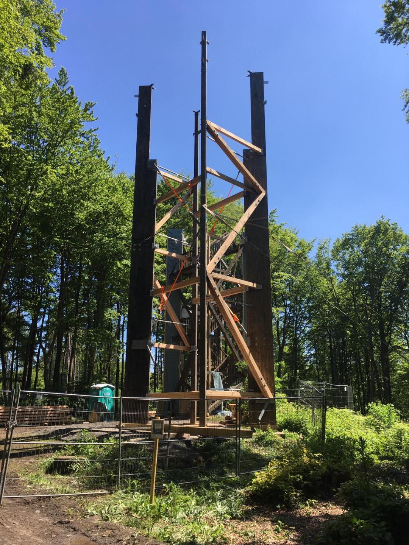 Der Turm soll bald wieder repariert werden