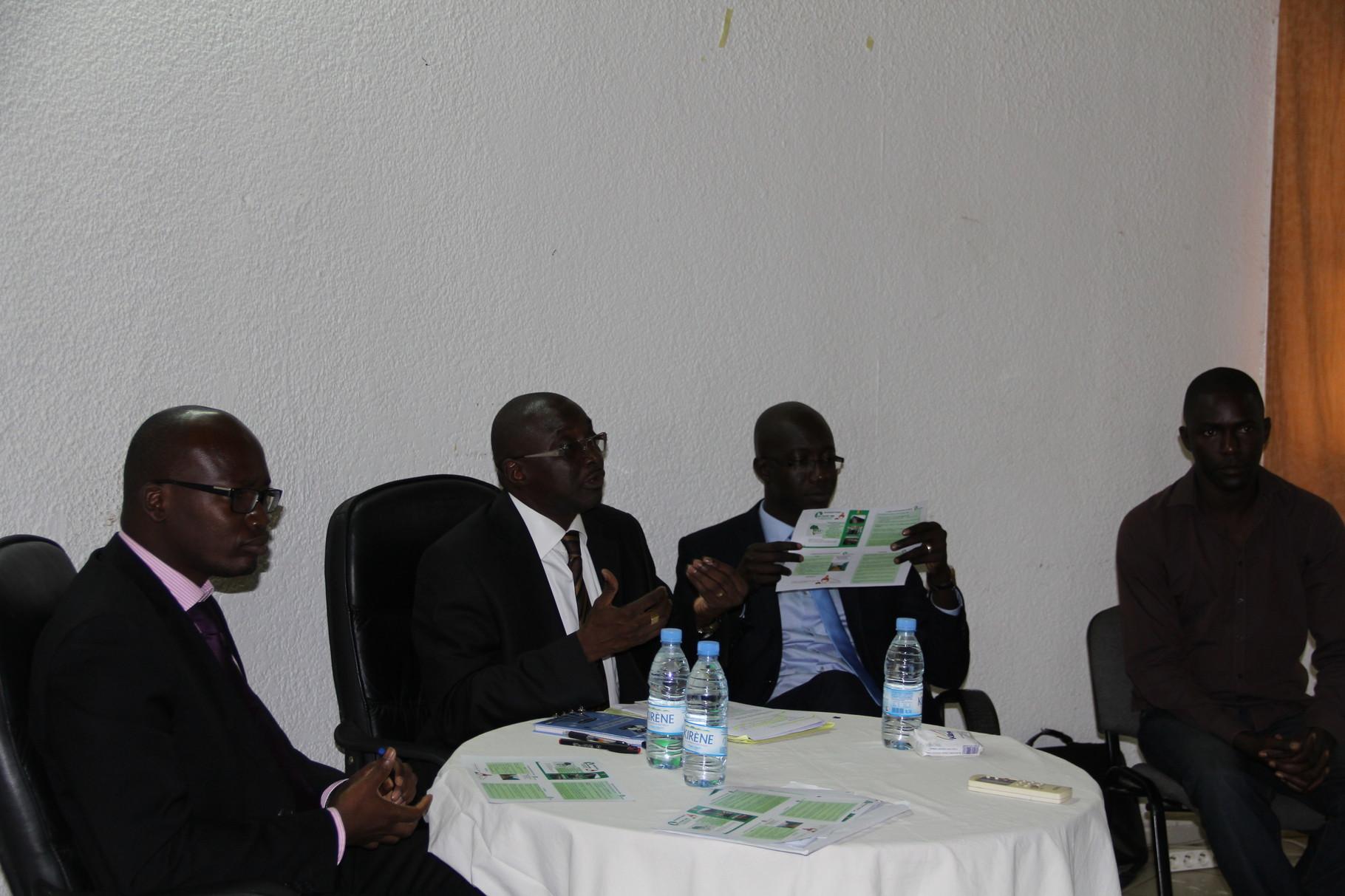 Forum RSE Senegal 2013 - panel de discussion Atelier 1