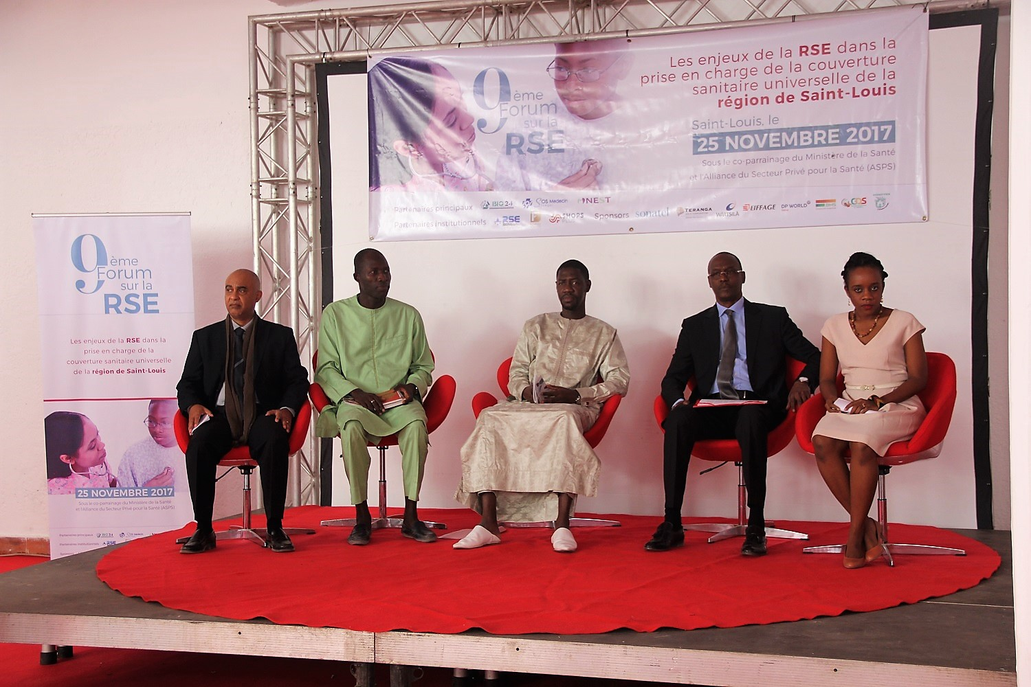 Forum RSE Senegal 2017 : Vue d'un Panel de discussion