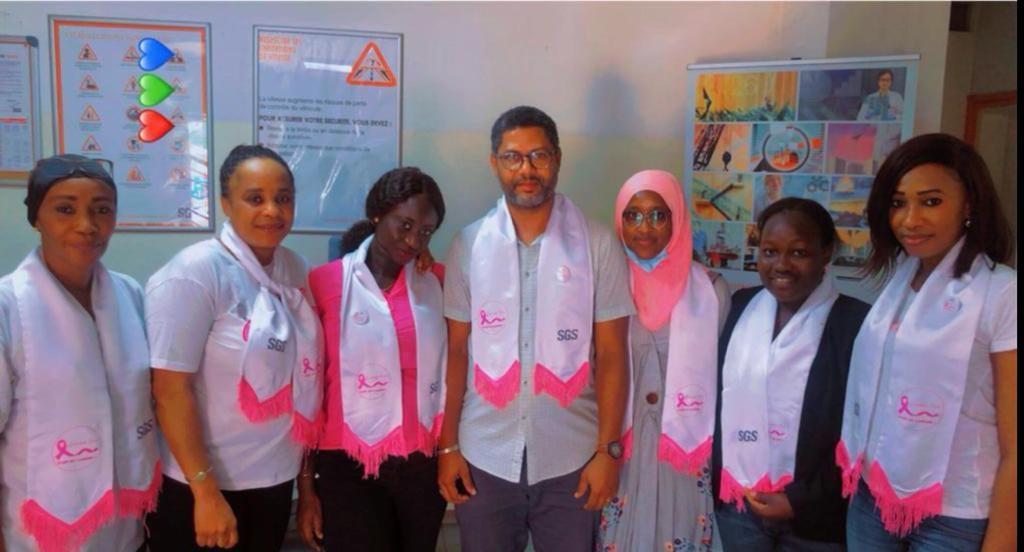 RSE- Octobre Rose 2021 à SGS Sénégal