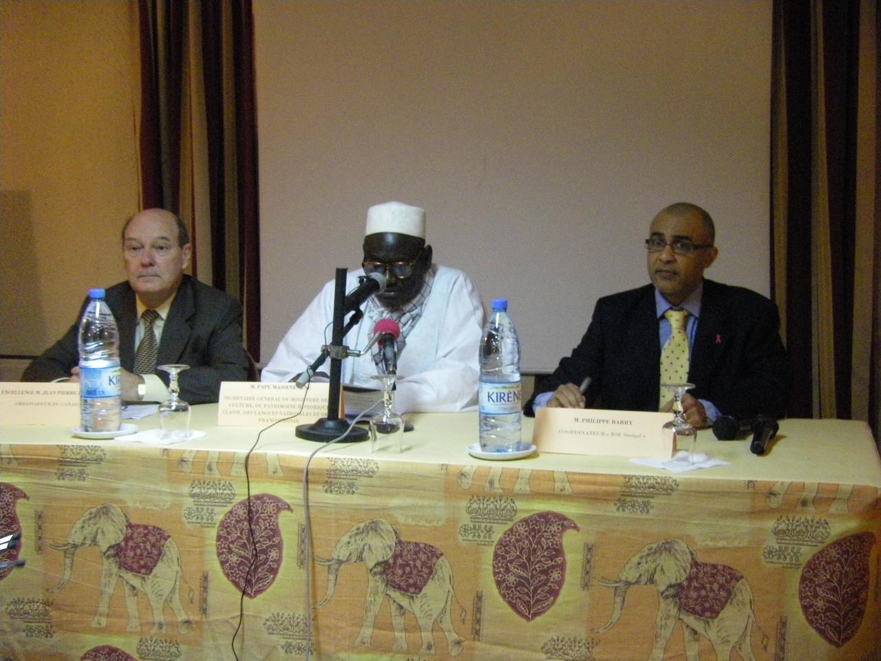 Forum RSE Senegal 2009 - parrainage : ministère chargé de la Francophonie
