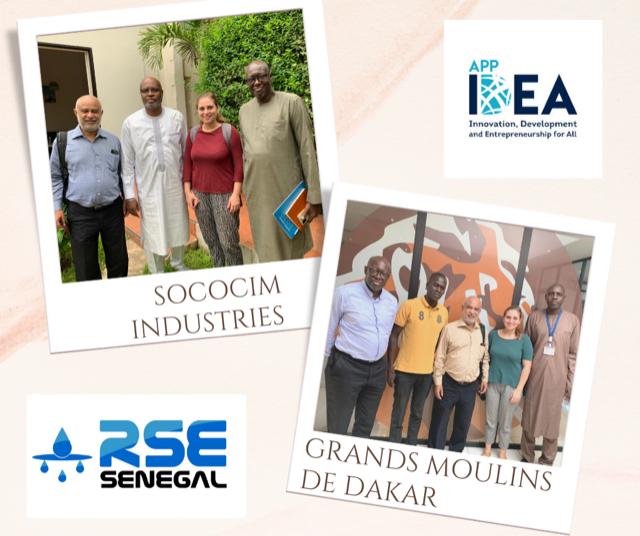 RSE- RSE Senegal accompagne l'implémentation de l'incubateur IDEA APP au Senegal