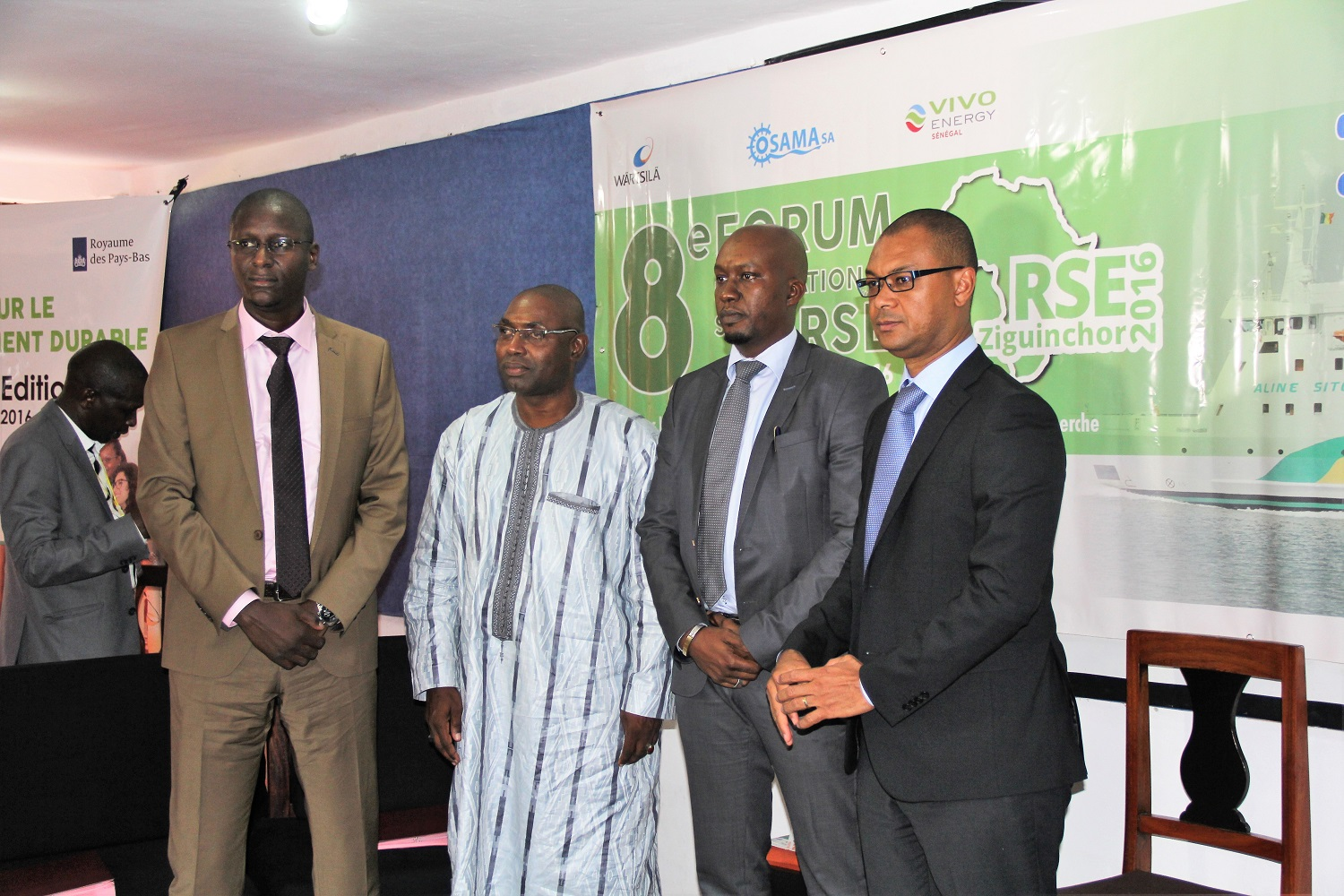 Forum RSE Senegal 2016 : Vue d'un Panel de discussion