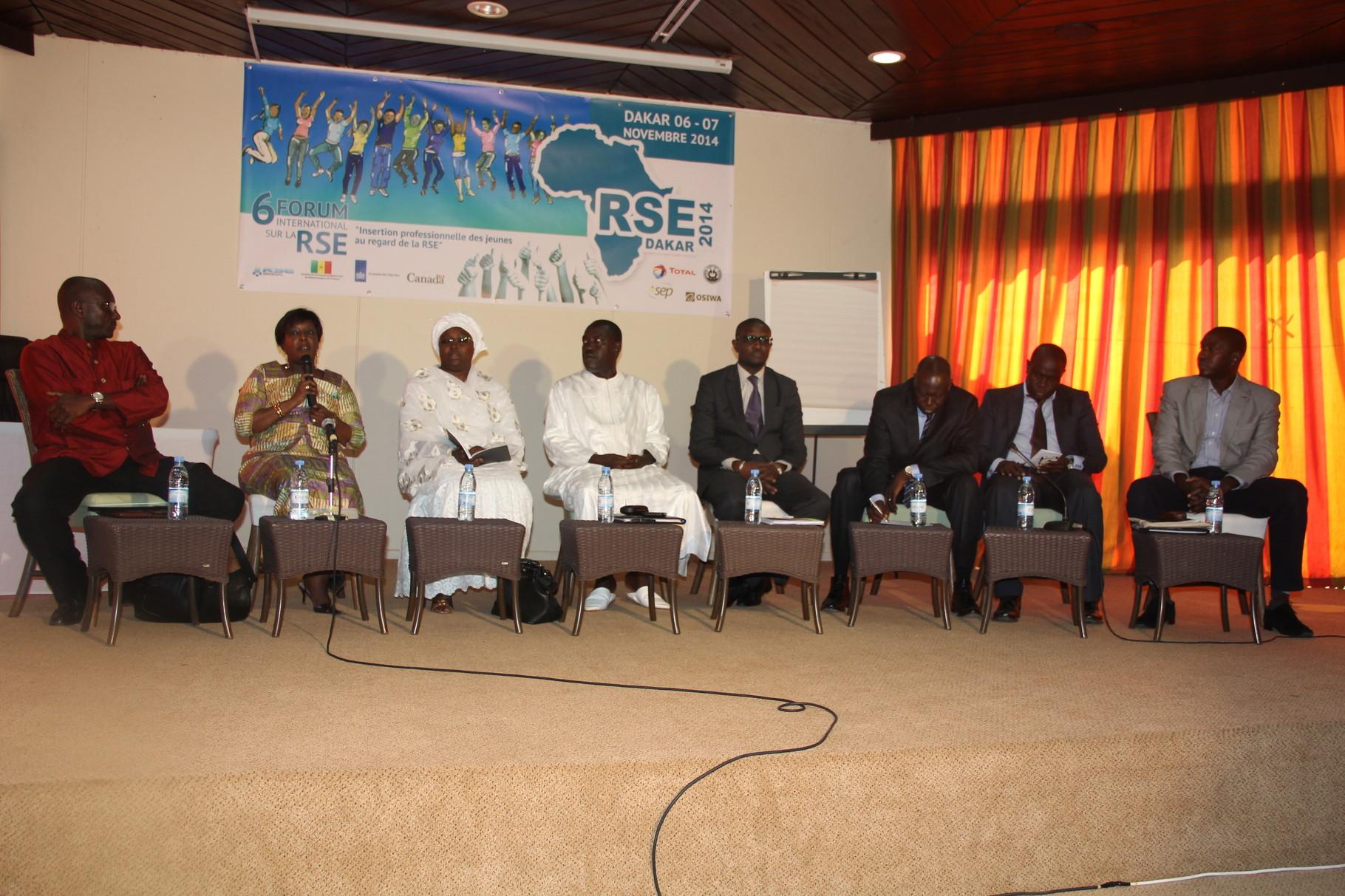 Forum RSE Senegal 2014 - panel de discussion Atelier 2