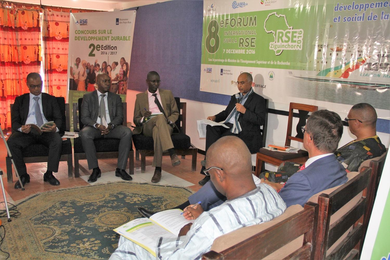 Forum RSE Senegal 2016 : parrainage du Ministère de l'Enseignement Supérieur et de la Recherche