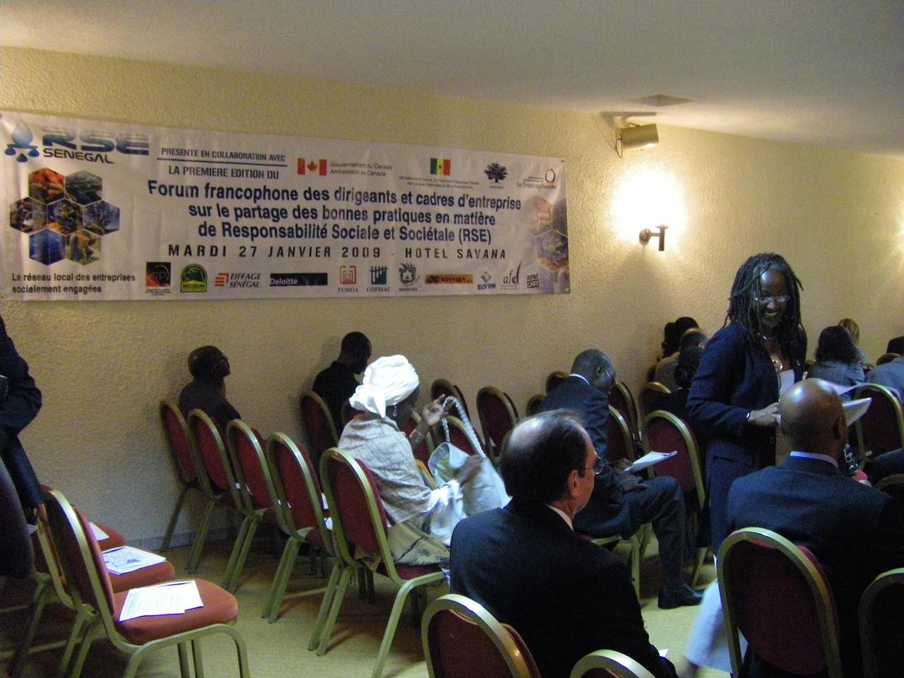 Forum RSE Senegal 2009 - partenaires