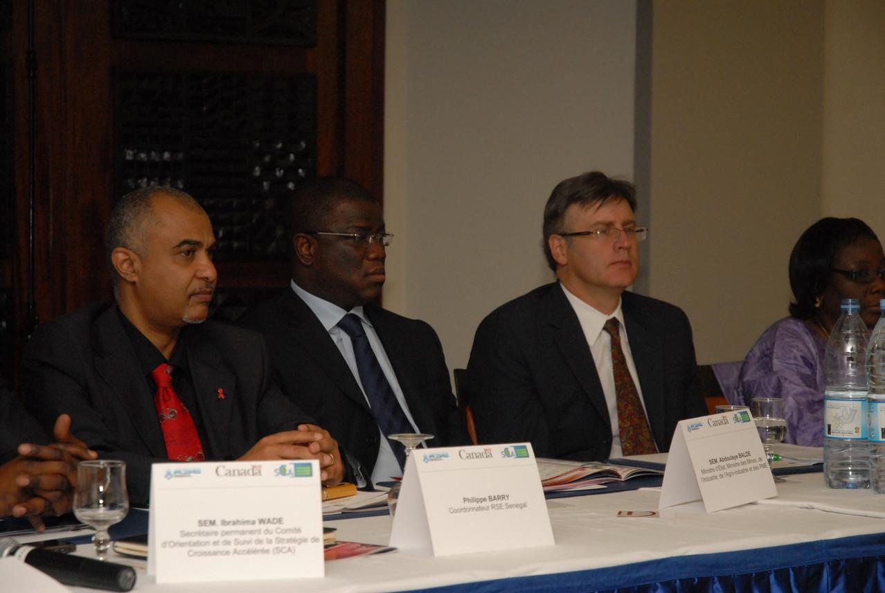 Forum RSE Senegal 2011 - parrainage : ministère chargé des Mines