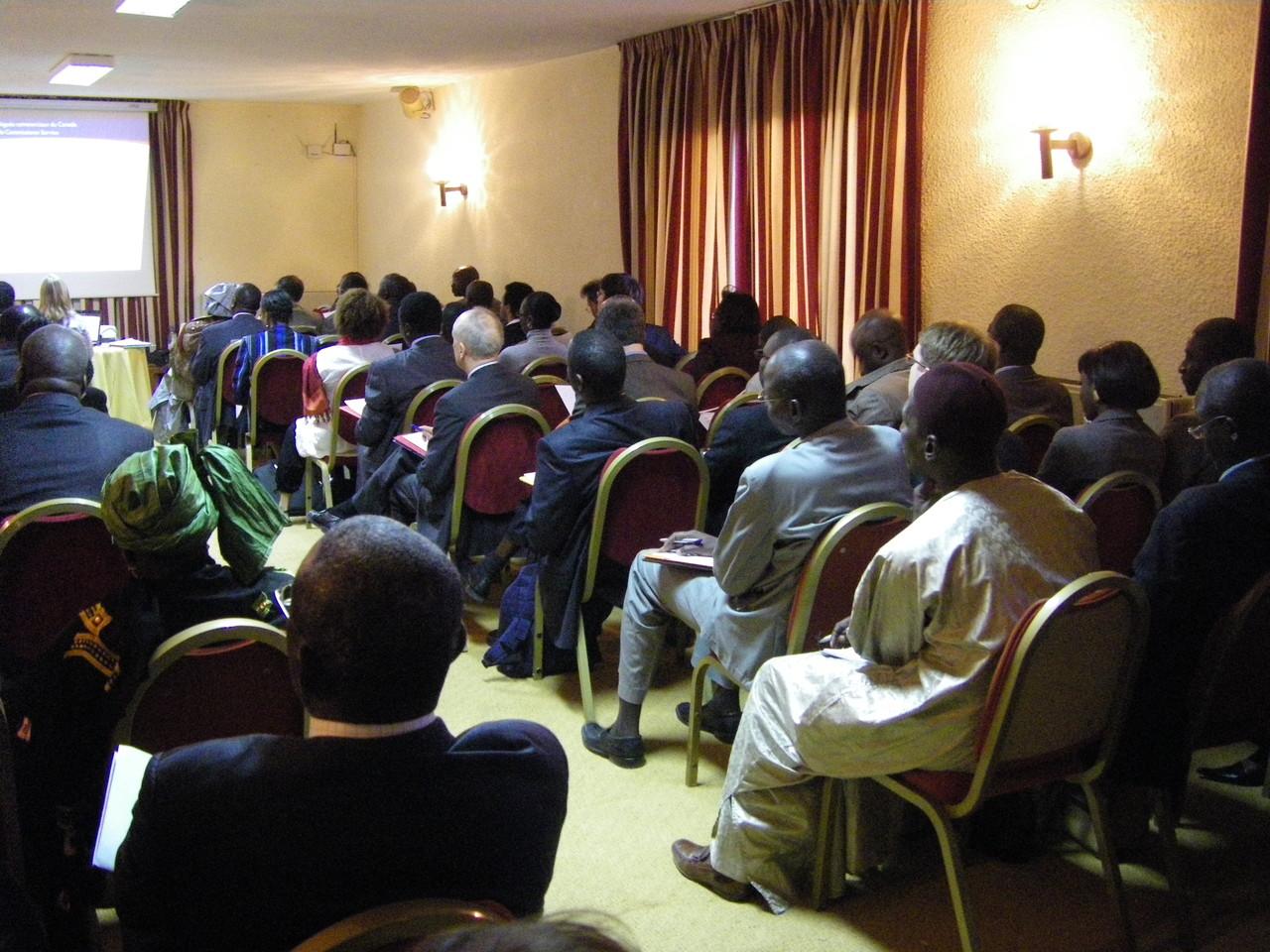 Forum RSE Senegal 2009 - vue de la salle Hôtel Savana