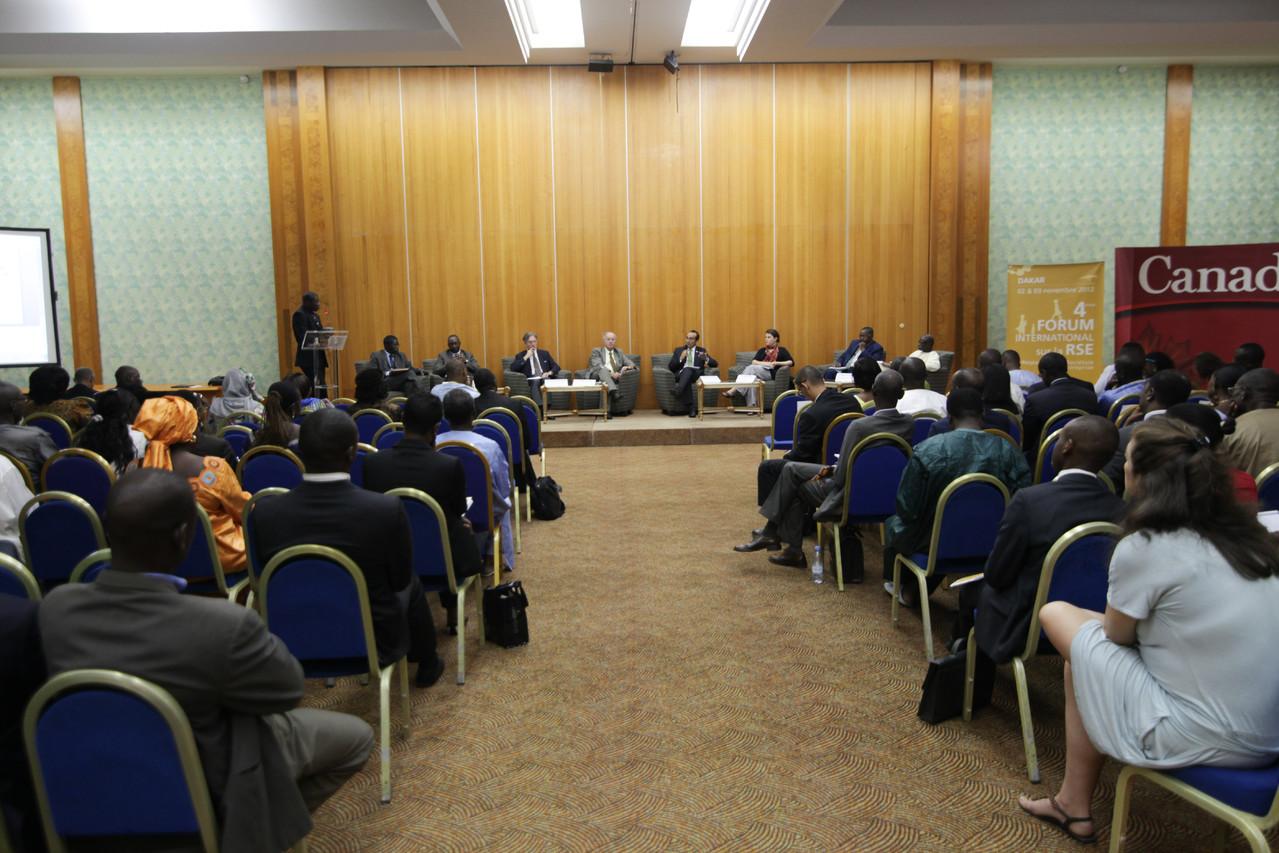 Forum RSE Senegal 2012 - vue de la salle King Fahd Hotel