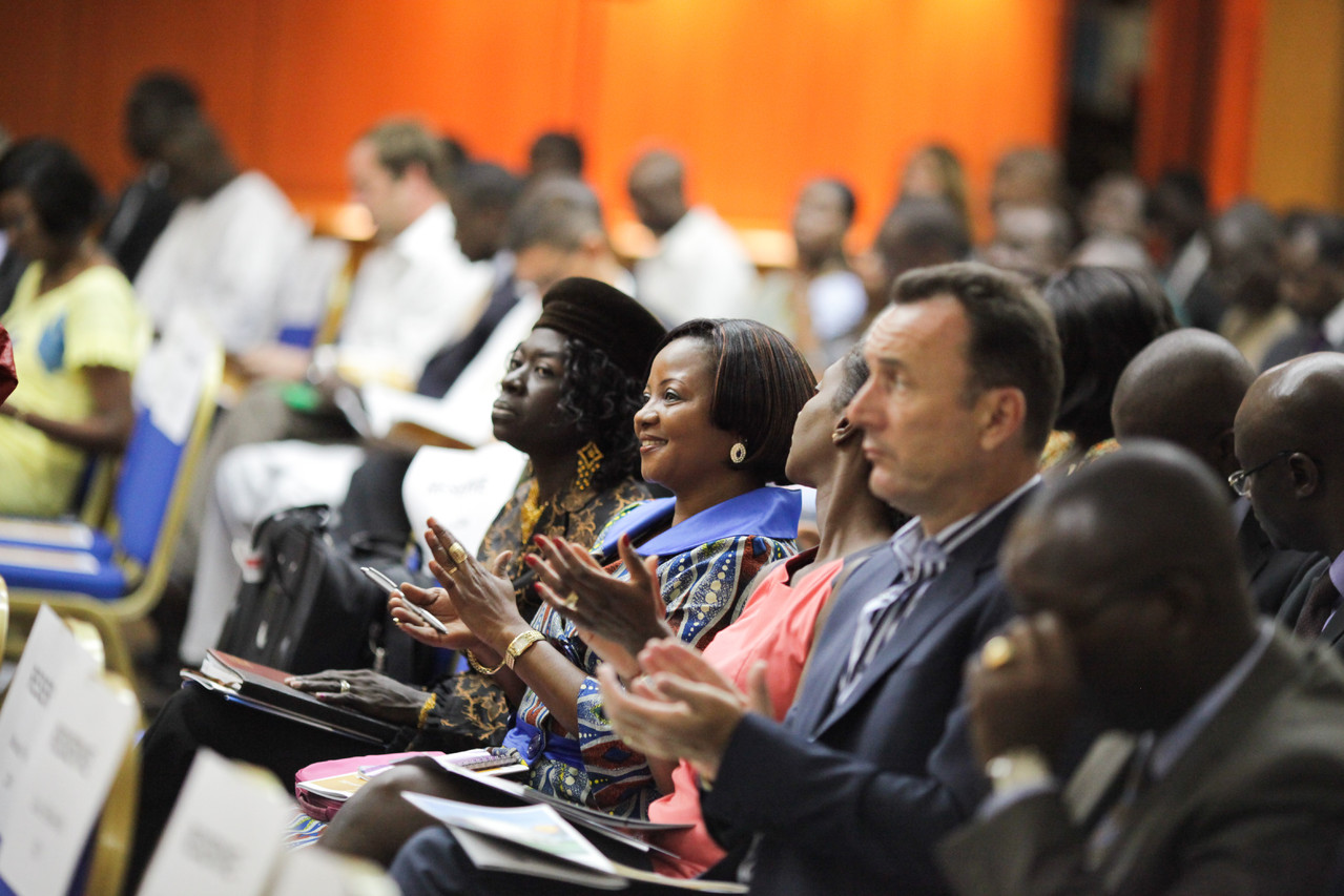 Forum RSE Senegal 2012 - vue de la salle