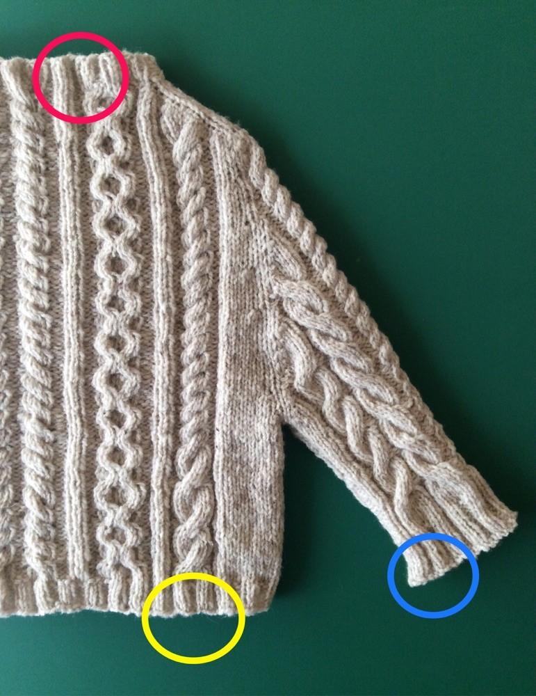 編み ゴム 作り 目 目 二 別鎖で始める2目ゴム編み