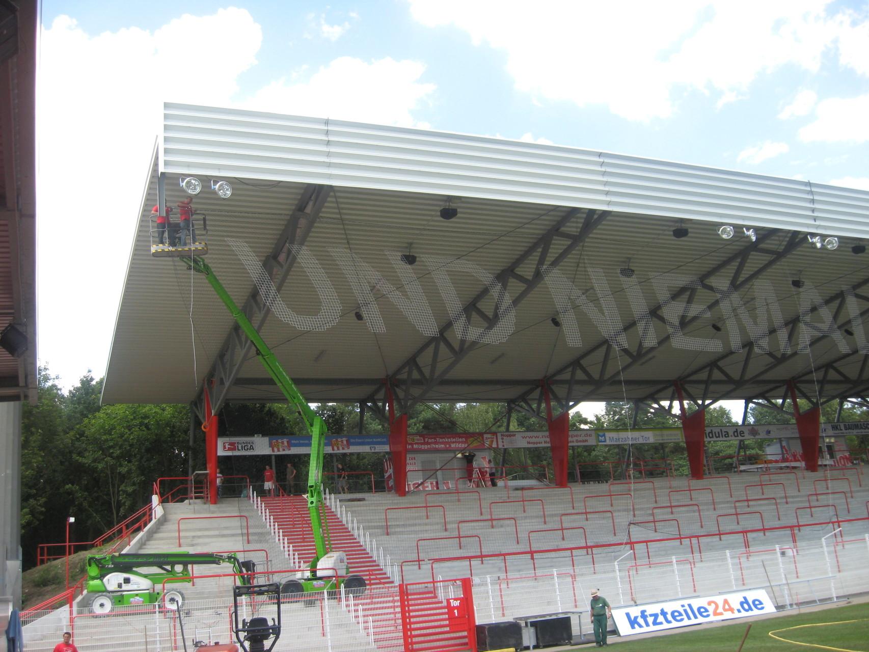 Ballfangnetze 1.FC Union Berlin