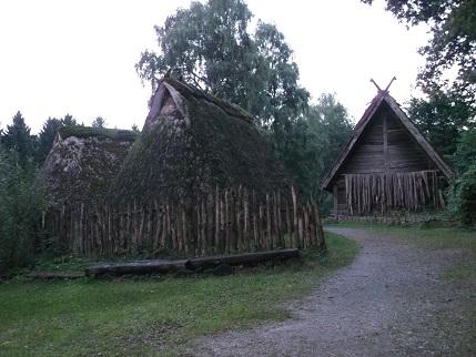 das archäologische Freilichtmuseum Oerlinghausen