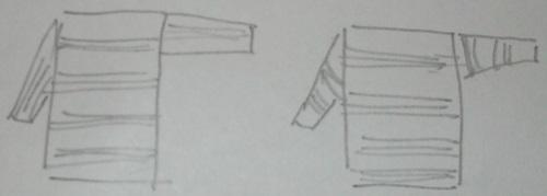 Möglicher Einsatz eines Rippen Rauten Köpers