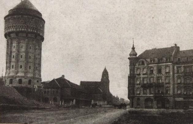 Château d'eau - Metz - 1908